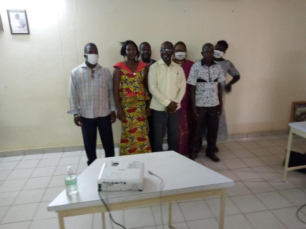 Membres du nouveau Conseil d'Administration